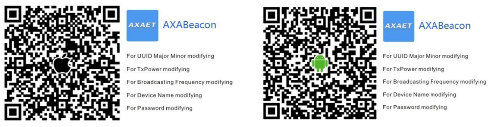 Best price ibeacon module bluetooth push button beacon for AXAET PC023