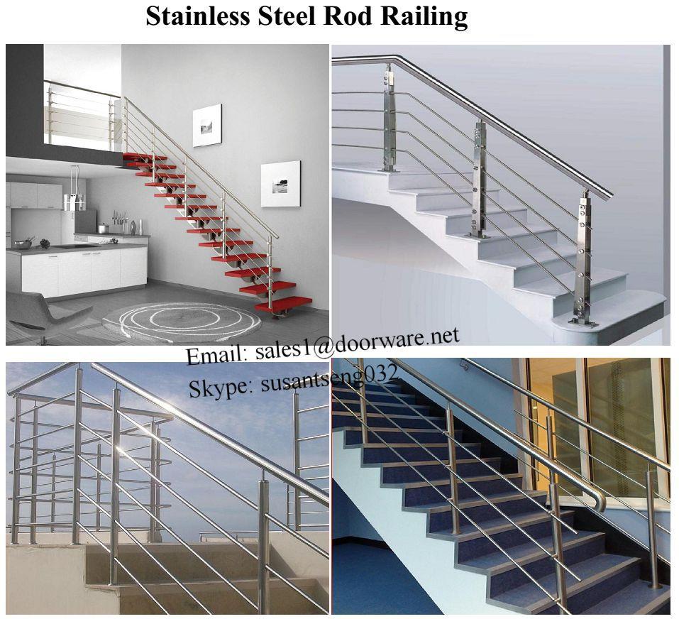 Stainless Steel Stair Handrail/horizontal Bar Infill ...