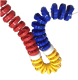 High quality Wholesale swimming pool float line swim lanes ropes