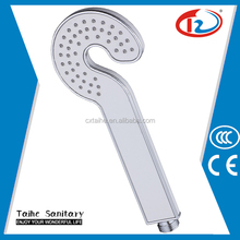 Bajo costo baño fittingabs led cabezal de ducha de mano