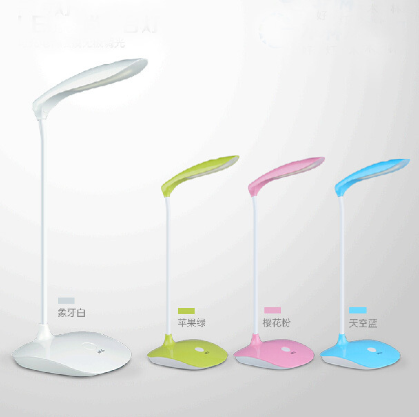 Touch Sliding bright adjusted Flexible LED desk Lamp and table lamp LED reading lamp Table mode luminaria de mesa study lamp