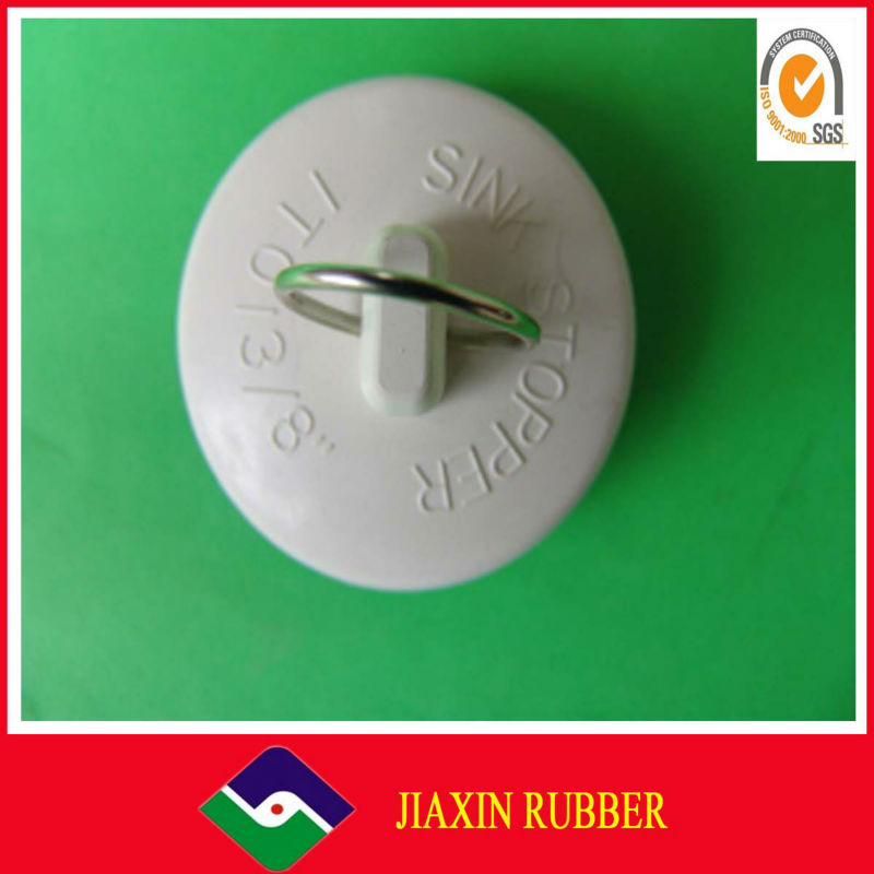 Bathroom and kitchen water pipe plug stopper