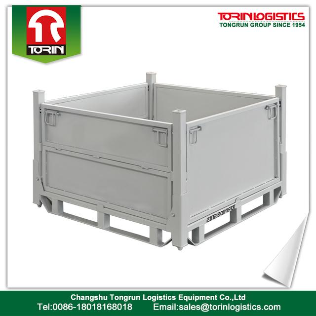 Economical Box Wire Bin Storage Container Metal Pallet Cage