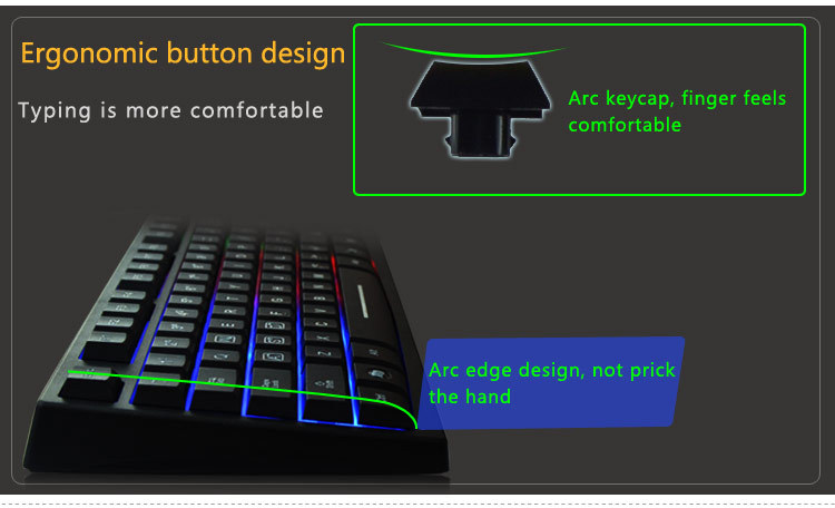Wired Led Light Glowing Partition Usb Led Backlit Keyboard Buy – Light Keyboard Wiring Diagram