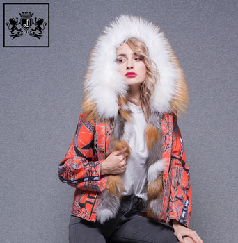 a0071dd0f1a Wholesale New Styles Fluffy Fur Hooded Women Feather Winter Coats Big Real Fur  Collar Duck Down