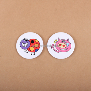 Customized Round quality Handmade decorative tin pin button badge