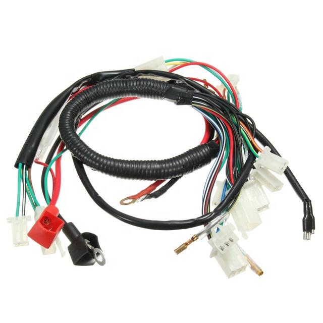 pit bike wiring harness best selling customizable wiring harness machine electric start  wiring harness machine electric start