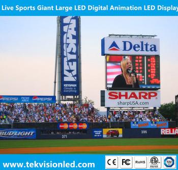 Live Sports Giant Large Led Digital Animation Led Display ...