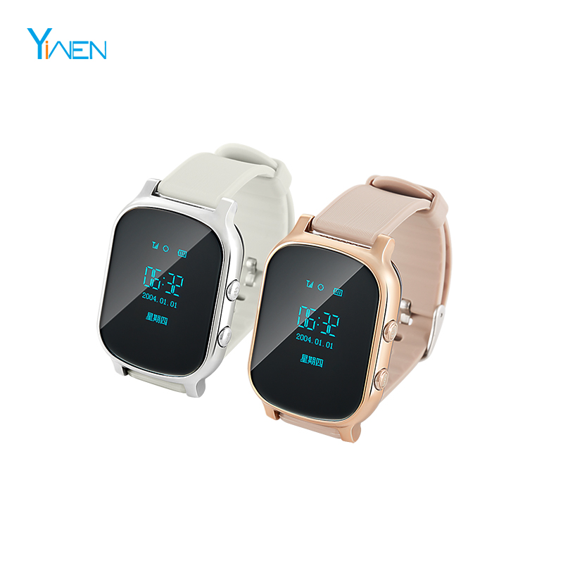 0cce457fd SOS Panic Button Adult Kid Elder People GPS Smart Watch GX18. Hot sale  products