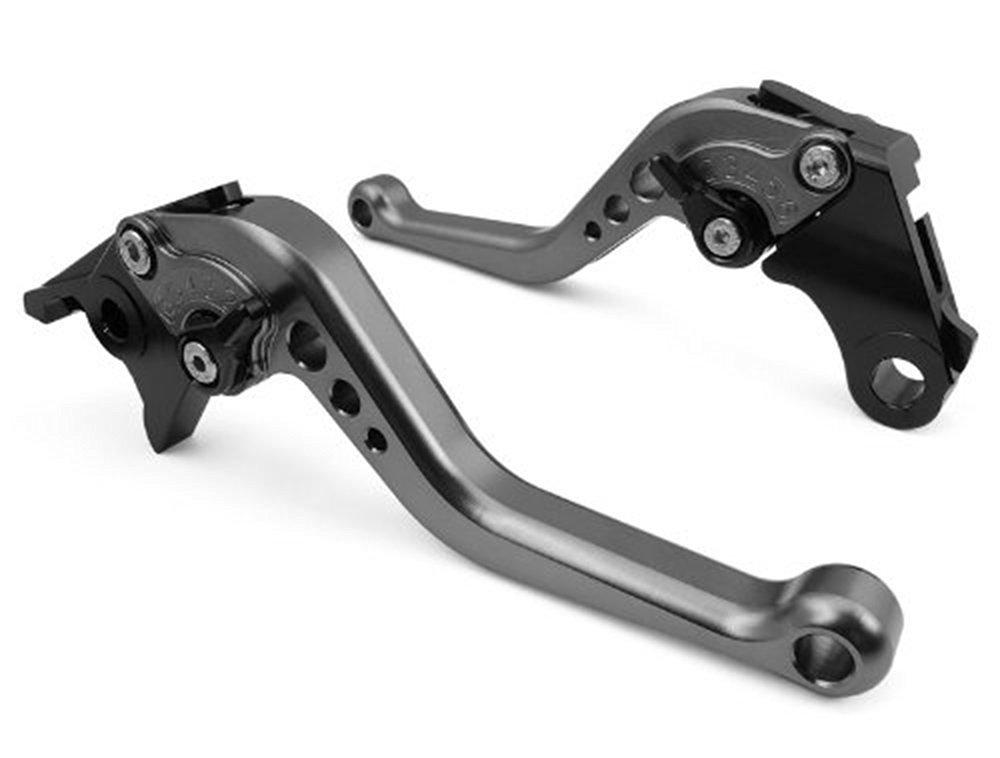 NEVERLAND CNC Clutch Brake Short levers For SUZUKI GSXR600 97-03, GSXR750 96-03, GSXR1000 2001-2004,GSR750/GSX-S750 11-15,TL1000S 97-01, SFV650 GLADIUS 2009-2015, DL650/V-STROM 2011-2012 Titianuim