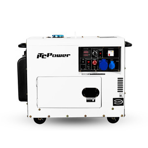 5kw silent diesel portable electricity power generator
