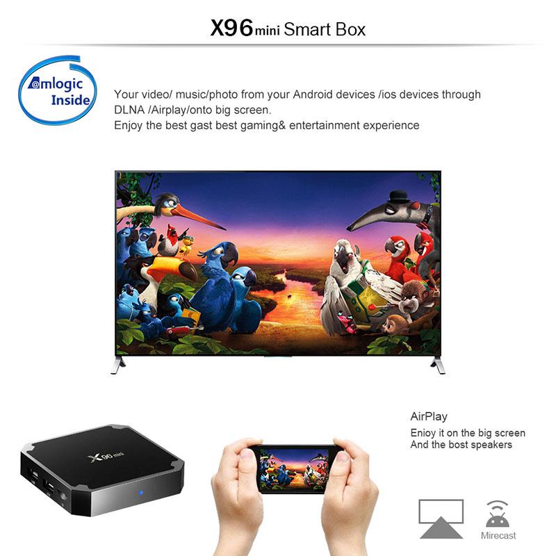 2019 New Hd 1080p Video 1gb 8gb Smart 7 Tvbox Firmware Update S905w 4k X96  Mini Android 7 1 Tv Box - Buy X96 Mini,Tvbox,Android 7 1 Tv Box Product on
