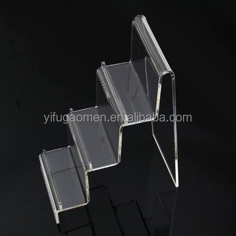 3 -Tiered Acrylic Wallet Display Rack,Display decorations arts and crafts