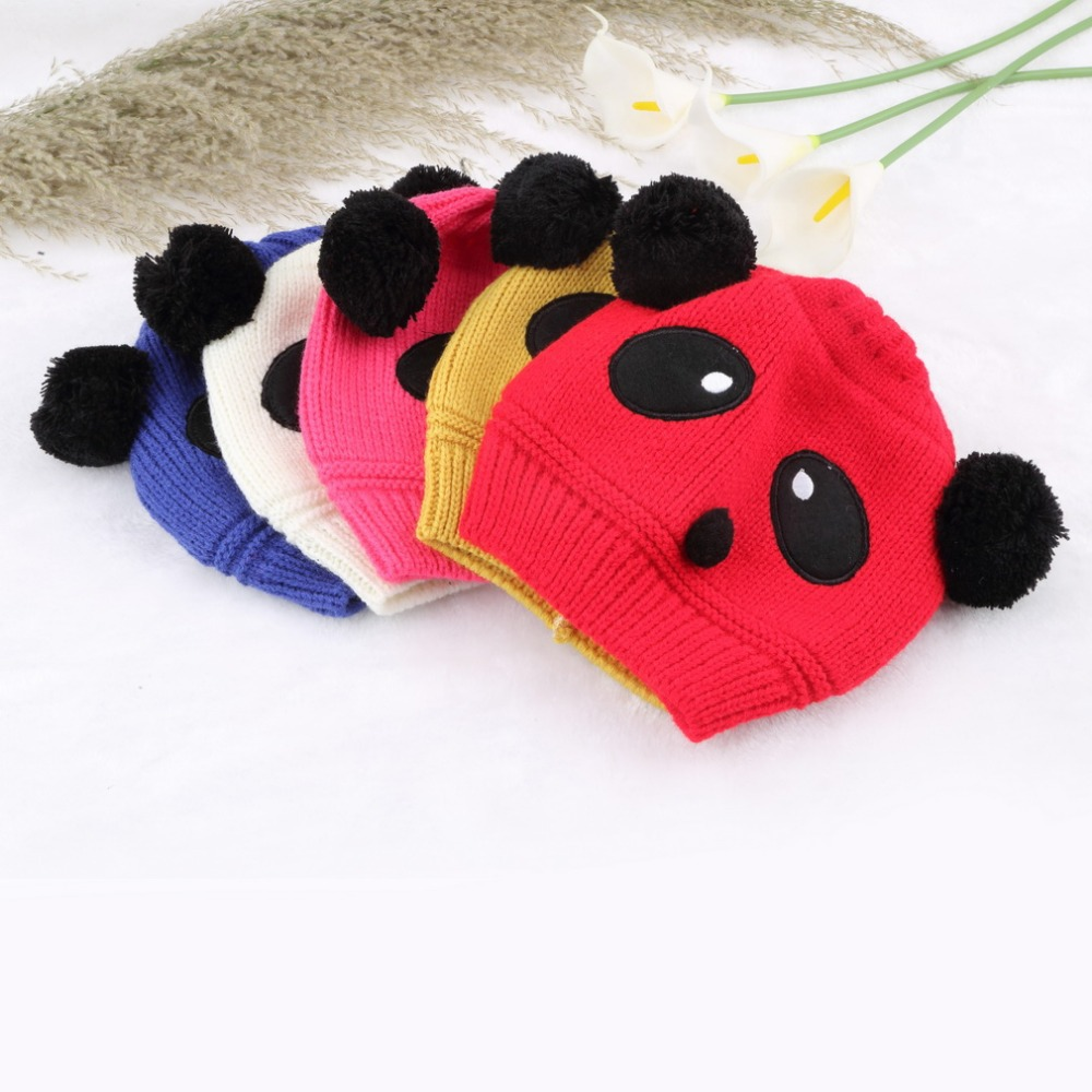 c1bb744172052 Buy Colorful Lovely Animal Panda Baby Girl Boy Kids Panda Hat And Caps Knit  Winter Warm Crochet Beanie Hats Cap For Children in Cheap Price on  m.alibaba.com