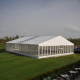 500 People Aluminum Permanent Transparent Glass Marquee Wedding Party Tent