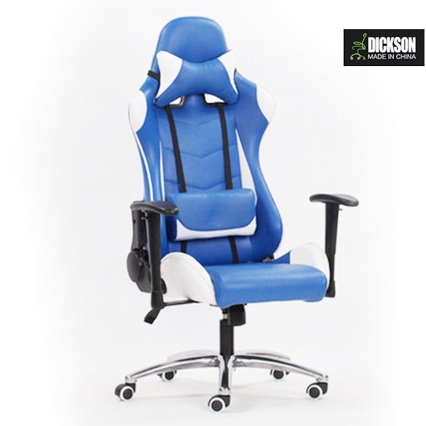 Dickson ergonomic PU leather blade blue,yellow,green ,red gaming chair