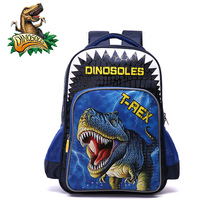 DINOSOLES brand kid 공룡 backpack 동물 (eiffel tower) 패턴 primary school bag 대 한 boys