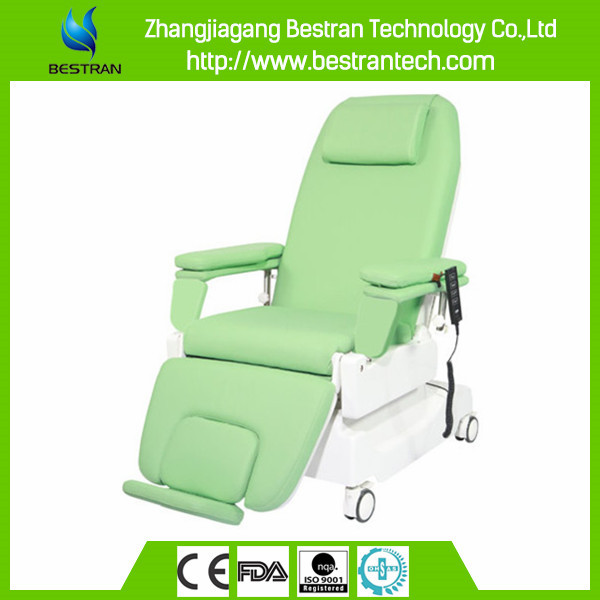 BT-DY002 ABS Covering 2 motor electric luxury dialysis recliner