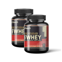 Lifeworth chocolate flavor whey isolate protein powder