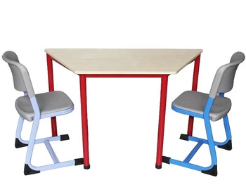 Used School Furniture Library Furniture Classroom Desk and Chair