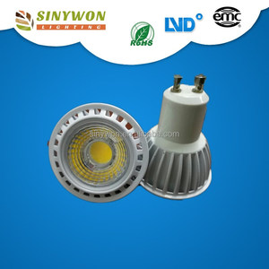 7W E27 GU10,MR16 600LM 220V 3000K COB LED Spotlight
