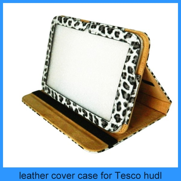 LuvTab Multi-angle Leopard Print Stand Case for 7 inch Tablets - Tesco Hudl 7""