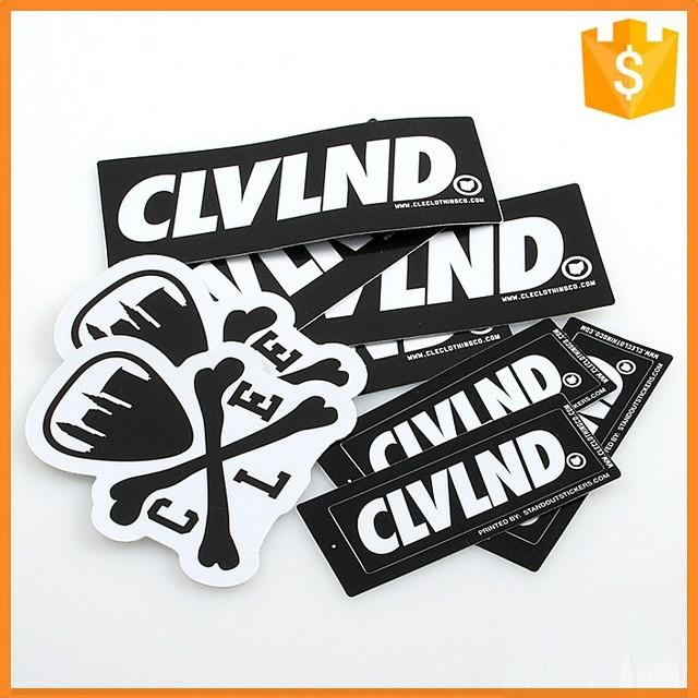 Custom car pvc bumper stickers car sticker printing service