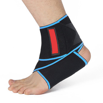 OEM Best Compression Knitted Ankle Straps Wraps Ankle Support Sleeve With Bottom price