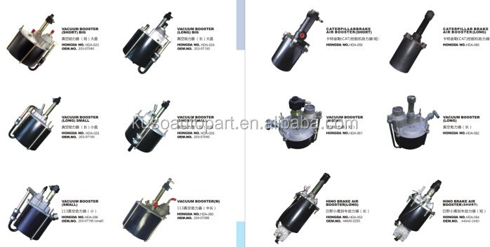 1-47800468-1 1-47800469-1 brake booster for with air master repair kit for  FTR FRR NRR FSR 6HH1 6HE1, View 6HH1 brake booster, KUSO Product Details