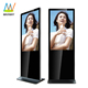 Rotation 49 Inch Floor Standing Monitor Lcd Touch Screen Kiosk For Android Based Interactive Digital