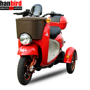 Hanbird Three Wheels Electric Motorcycle 1000w Electric Scooter