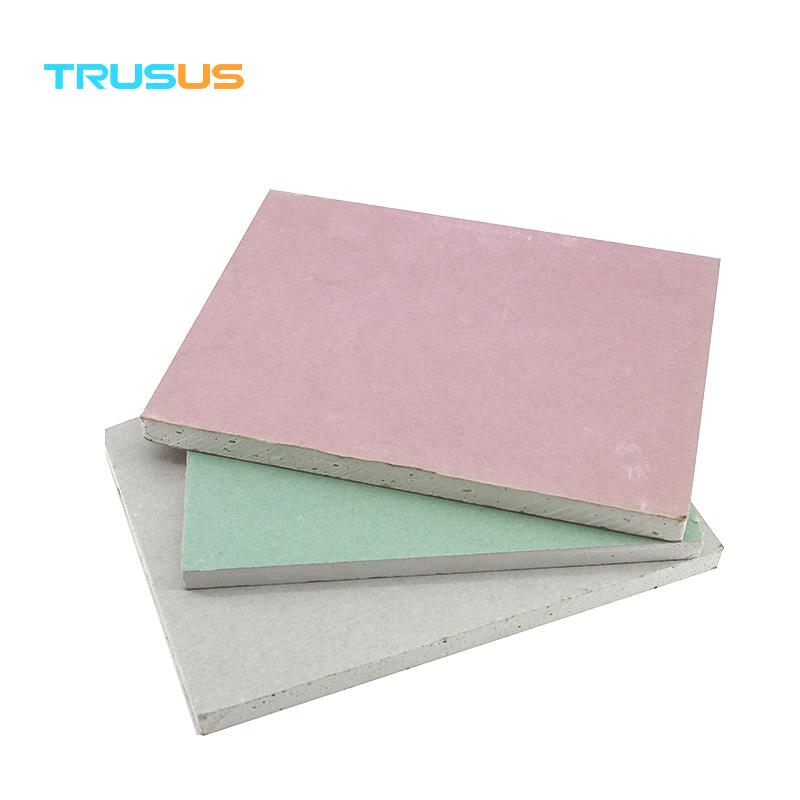 Building Material Regular Price Green Board Drywall Price Buy