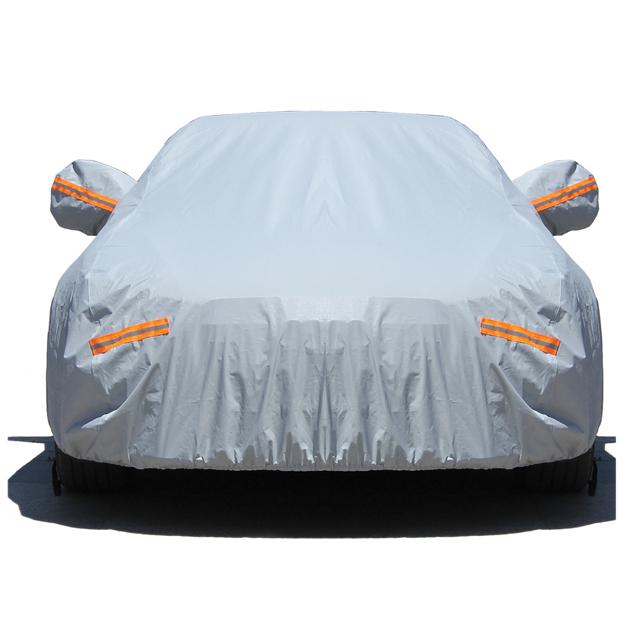 Горячая продажа 190t полиэстер пыленепроницаемый автомобильный чехол для всего кузова автомобиля
