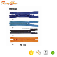Custom Design Low Price Transparent pvc/nylon Zipper