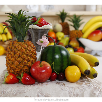 Flora Bunda High Simulation Decoration Artificial Fruit Model For Wedding  Home Party Decor Artificial Fruit Vegetable