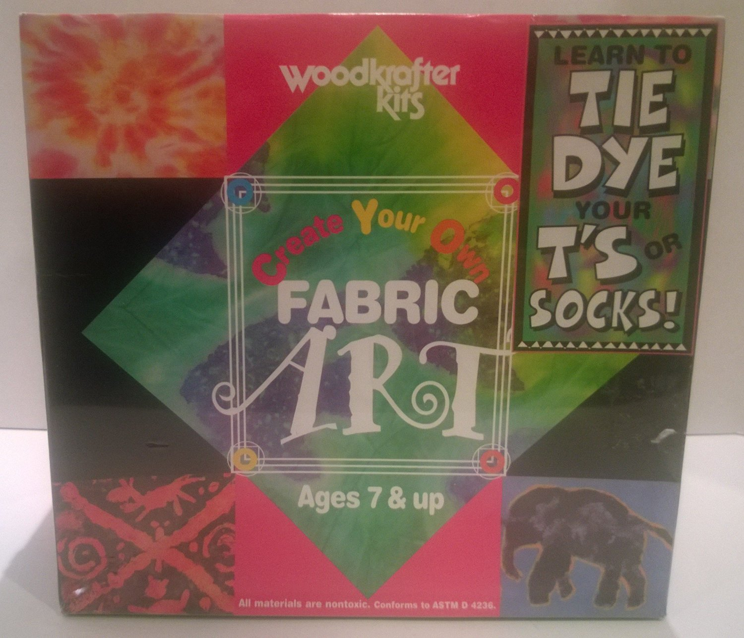 Woodkrafter Kits Creat Your Own Fabric Art
