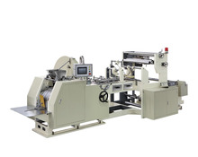 White Paper Bag Sealing Machine With Side Gusset