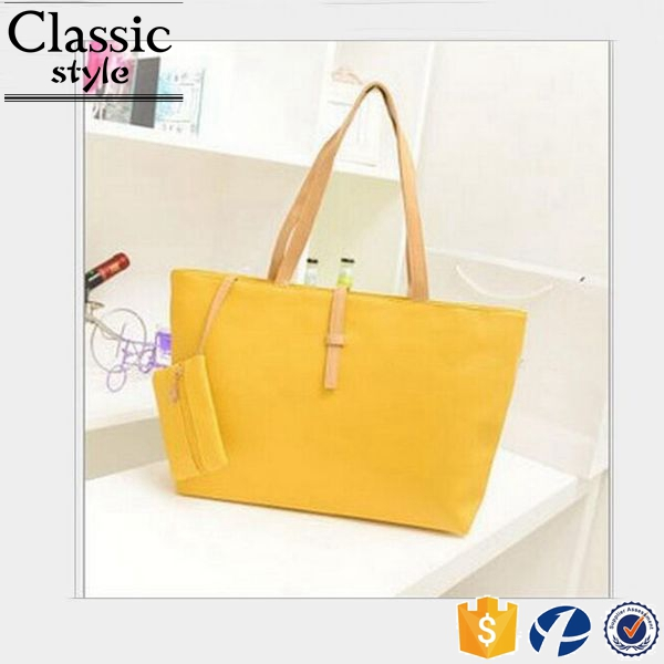 CR looking for business partner in europe trending hot products on line cheap bag set yellow pu handbag leather tote bag