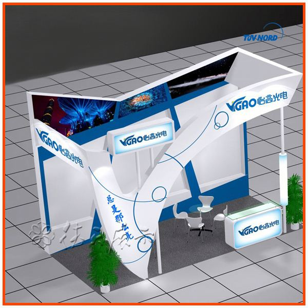 Exhibition Shell Scheme Manufacturers : Best selling custom shell scheme exhibition booth design manufacture