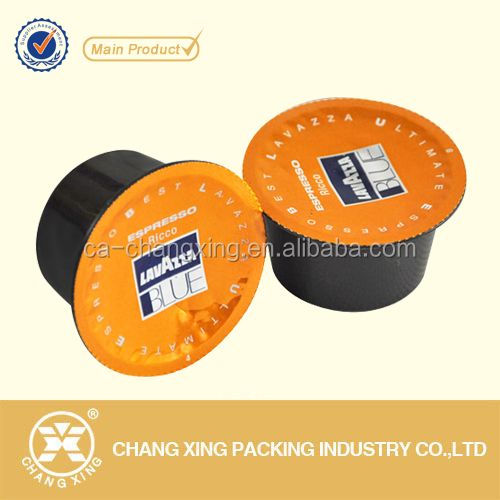 peelable lidding laminated film for cups/heat shrink cap seal