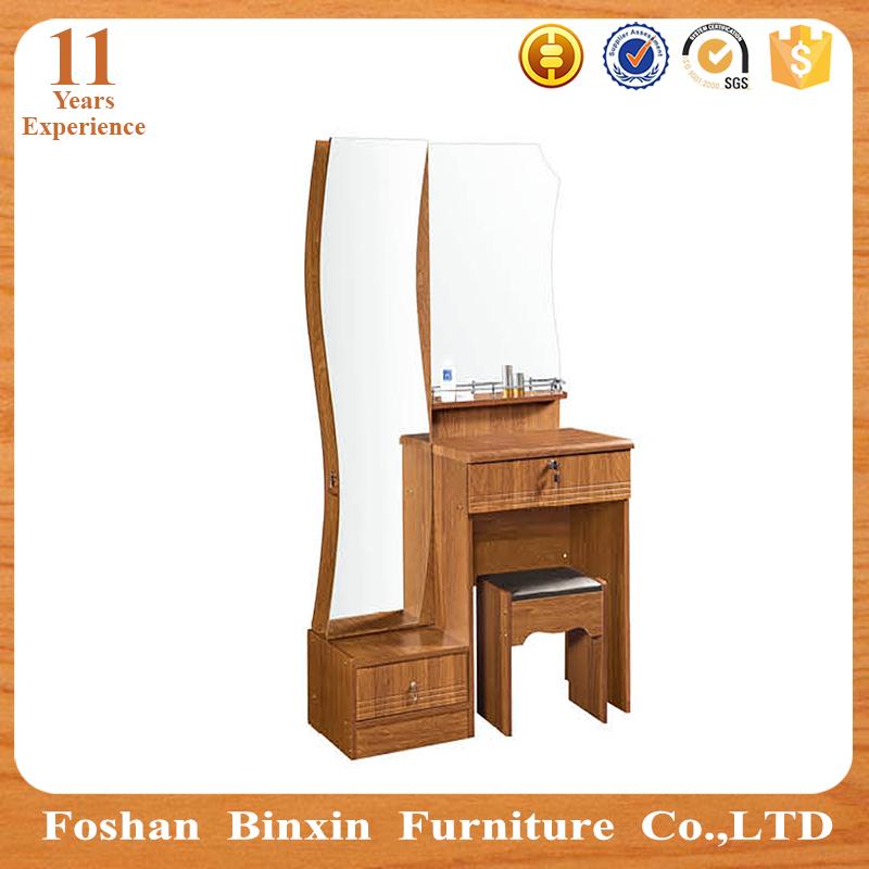 Simple muebles de madera dormitorio moderno espejo tocador - Tocador moderno dormitorio ...