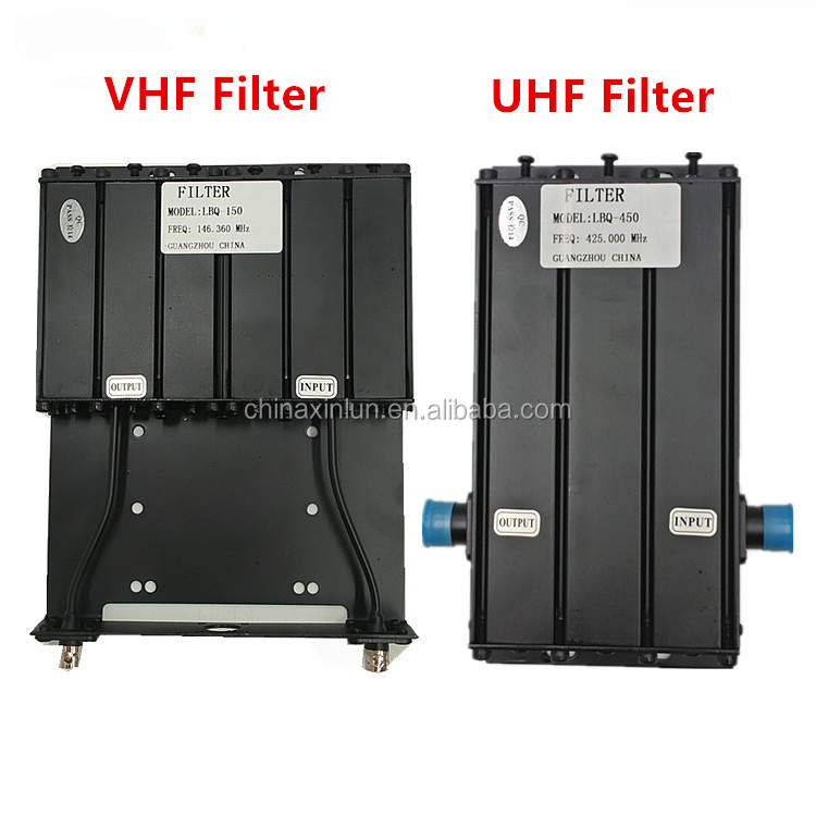 Good Performance VHF UHF Bandpass Filter for Radio Repeater 2m/70cm Band  Filter, View vhf uhf filter, Xinlun Product Details from Shenzhen Xinlun