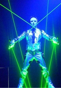 5w green Laser Man Show System, Stage Laser Light