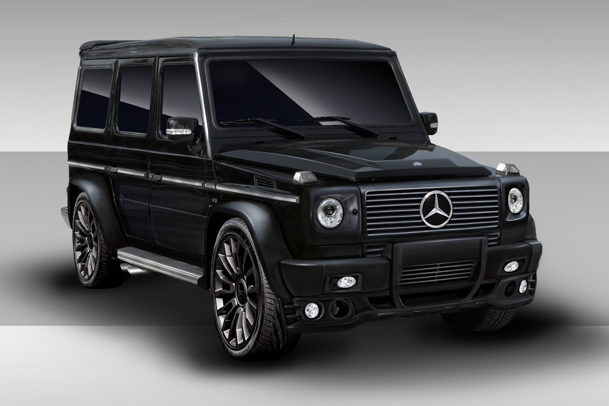 2000-2010 Mercedes G Class W463 Eros Version 1 Body Kit- 7 Piece