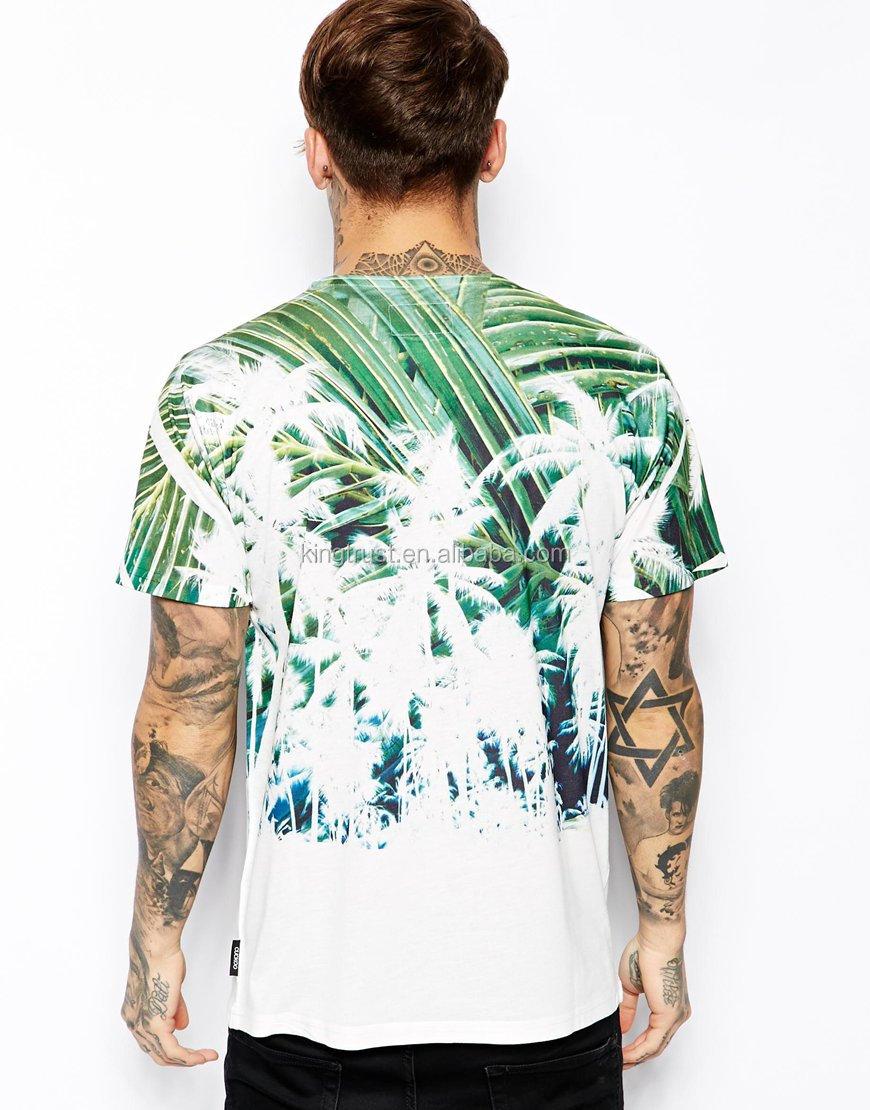 Custom Mens 3 D T Shirt Whole Fancy Full Print High Quality