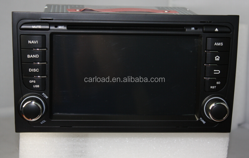 Wince touch screen car dvd gps for special Audi A4 car dvd
