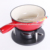 Cheese accessories enamel iron chocolate fondue pot alcohol hot pot