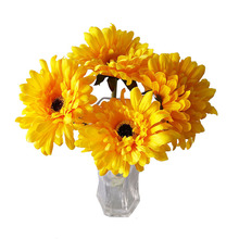 Kunstmatige Zijde <span class=keywords><strong>Gerbera</strong></span> Daisy Bloem Wedding Party Home Decor Kunstmatige Daisy Wedding Bloemen Struiken