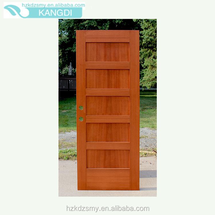 Cherry veneer interior door with solid wood construction for Solid wood door construction