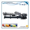PP pe extrusion pelletizer co-rotating recycling twin screw plastic pellet exruder
